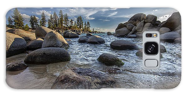 Sand Harbor II Galaxy Case by Rick Berk