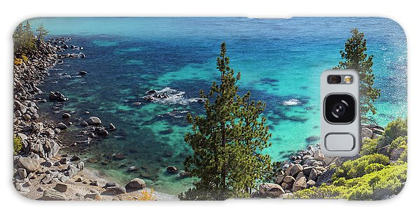 Sand Harbor Lookout By Brad Scott - Square Galaxy Case