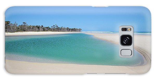 Sand Island Paradise Galaxy Case