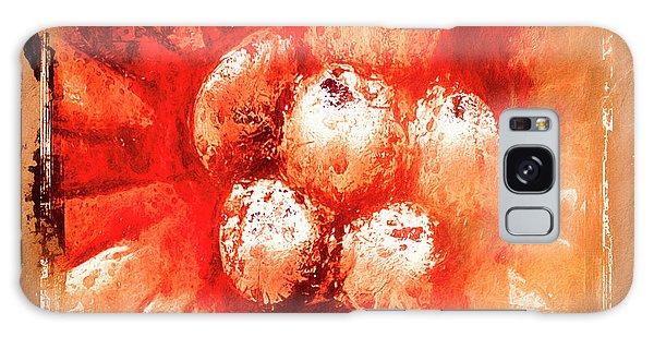 Sand Storm Galaxy Case by Carolyn Marshall