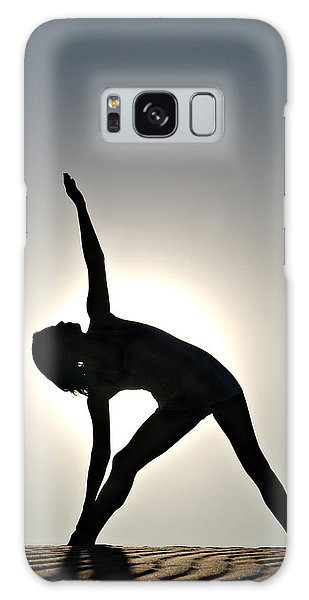 Sand Yoga Galaxy Case