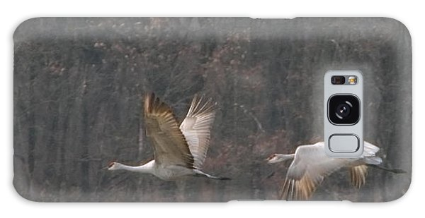 Sandhills In Flight Galaxy Case by Shari Jardina