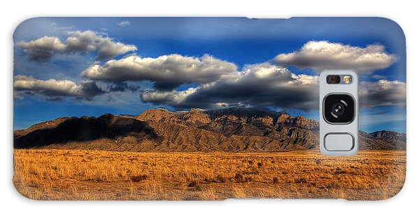 Sandia Crest In Late Afternoon Light Galaxy Case by Alan Vance Ley