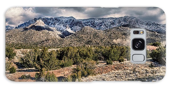 Sandia Mountain Landscape Galaxy Case by Alan Toepfer