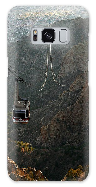 Sandia Peak Cable Car Galaxy Case by Joe Kozlowski