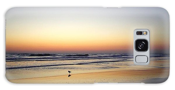 Sandpiper Sunrise Galaxy Case by Cheryl Waugh Whitney