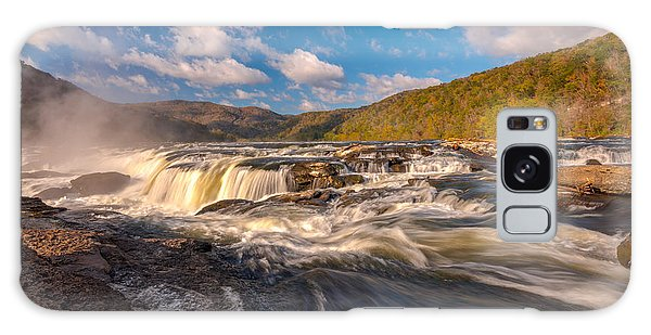 Sandstone Falls New River Gorge Galaxy Case