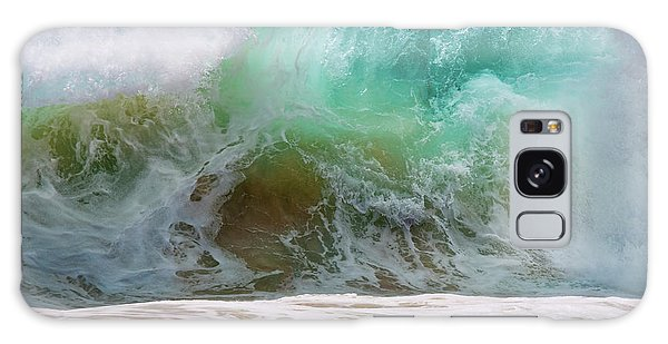 Sandy Beach Surf Galaxy Case