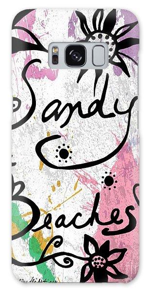 Sandy Beaches Galaxy Case