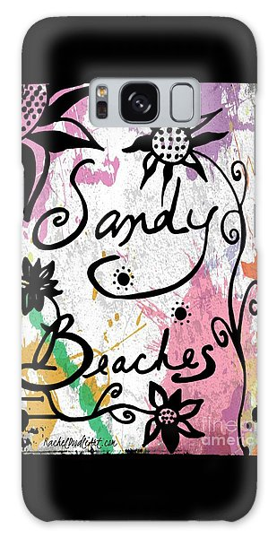 Sandy Beaches Galaxy Case