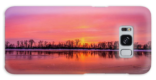 Galaxy Case featuring the photograph Sandy Chute Sunset by Matthew Chapman