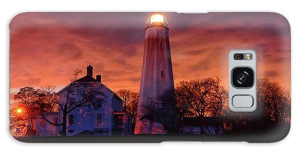 Sandy Hook Lighthouse Galaxy Case