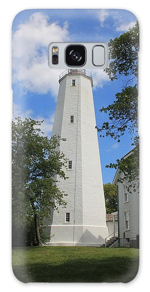 Sandy Hook Lighthouse Tower Galaxy Case