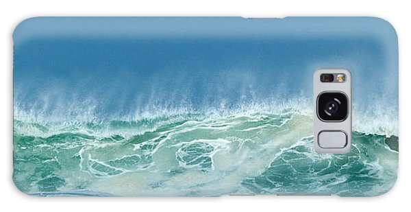 Sandy Wave Galaxy Case by Michelle Wiarda