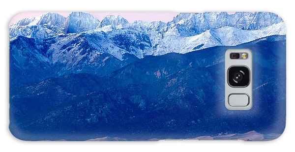 Sangre De Christo And The Great Sand Dunes National Park Galaxy Case