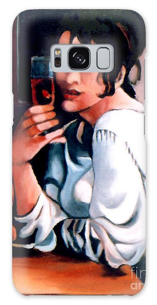 Sangria Lady Galaxy Case