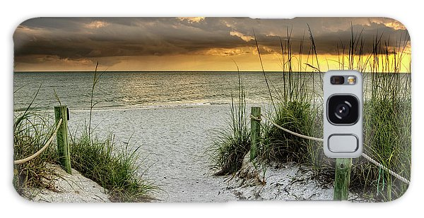 Sanibel Island Beach Access Galaxy Case