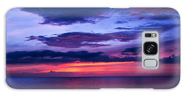 Sanibel Sunset Galaxy Case