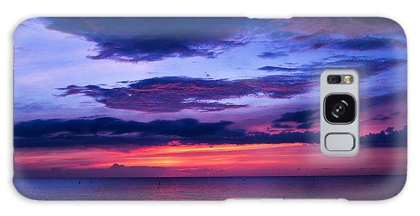 Sanibel Sunset Galaxy Case