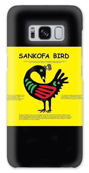 Sankofa Bird Of Knowledge Galaxy Case