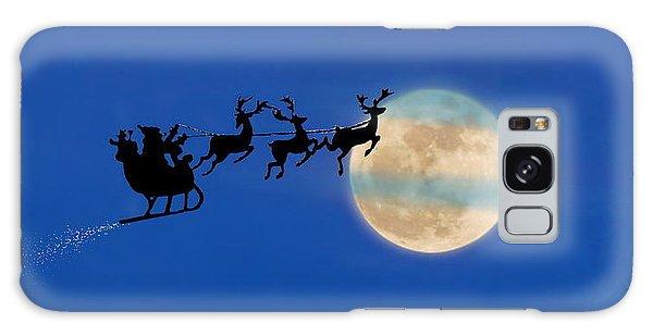 Santa 1 Galaxy Case