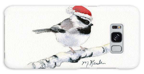 Santa Bandit - Chickadee Galaxy Case