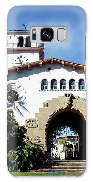 Santa Barbara Courthouse -by Linda Woods Galaxy Case by Linda Woods