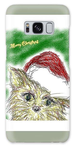 Galaxy Case - Santa Cat by Kumiko Izumi