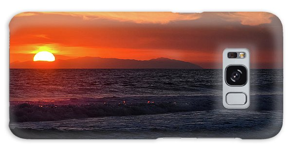 Galaxy Case featuring the photograph Santa Catalina Island Sunset by Kyle Hanson