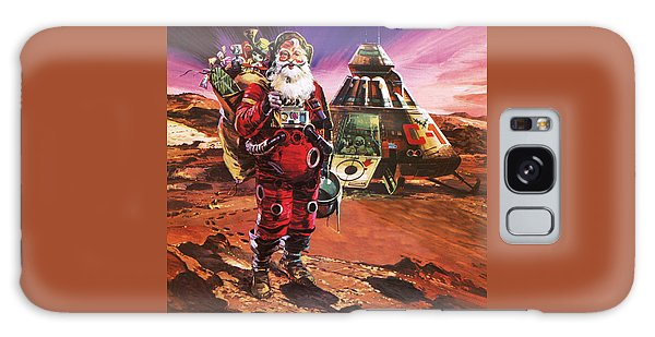 Santa Claus On Mars Galaxy Case by English School