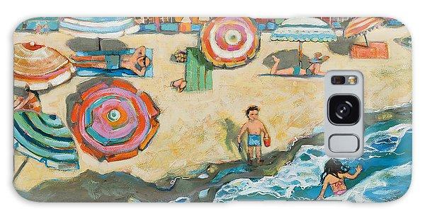 California Galaxy Case - Santa Cruz Beach Boardwalk by Jen Norton