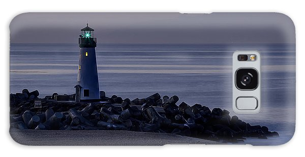 Walton Lighthouse Early Morning Galaxy Case