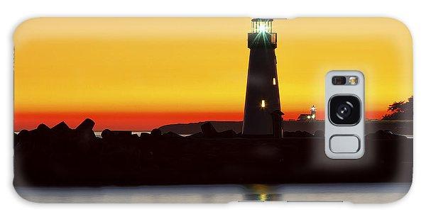 Santa Cruz Lighthouses Galaxy Case