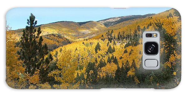 Santa Fe Autumn View Galaxy Case