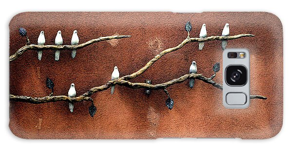 Galaxy Case featuring the photograph Santa Fe Birds by Kenneth Campbell