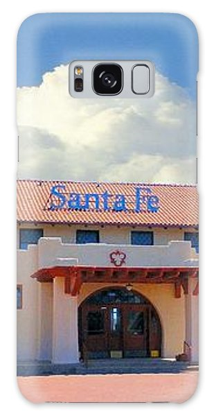 Santa Fe Depot In Amarillo Texas Galaxy Case