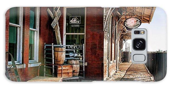 Santa Fe Depot Of Guthrie Galaxy Case by Lana Trussell