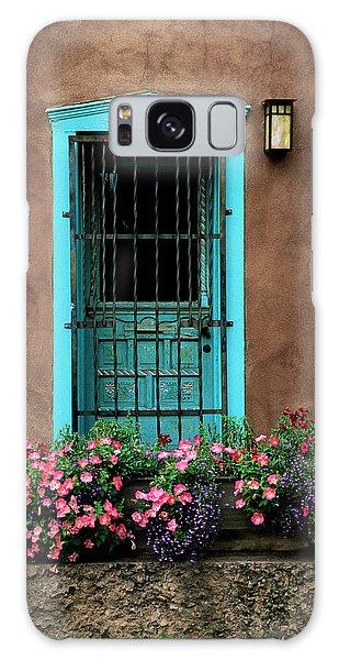 Santa Fe Door #1 Galaxy Case