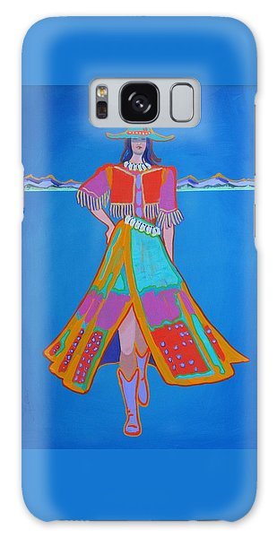 Santa Fe Girl  Galaxy Case