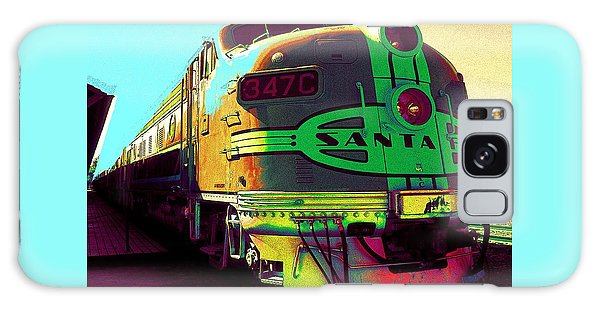 Santa Fe Railroad New Mexico Galaxy Case