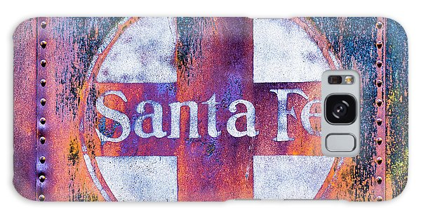 Galaxy Case featuring the photograph Santa Fe Rr by Lou Novick