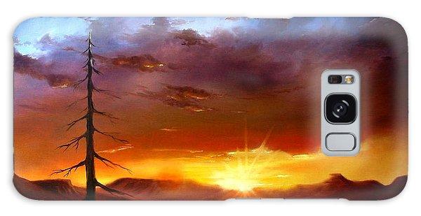 Santa Fe Sunset Galaxy Case