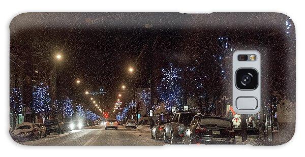 Santa Visits Bradford Galaxy Case by Wade Aiken