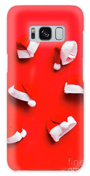 Santa Claus Galaxy Case - Santa Hat Party by Jorgo Photography - Wall Art Gallery