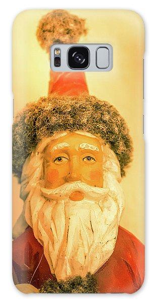 Santa Is Watching Galaxy Case