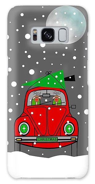 Santa Lane Galaxy Case by Kathleen Sartoris