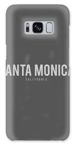 Santa Monica California Galaxy Case