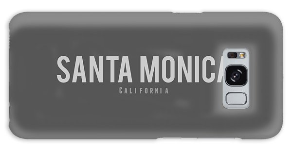 Santa Monica California Galaxy Case