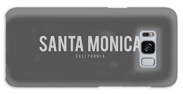 Santa Monica California Galaxy Case by Sean McDunn