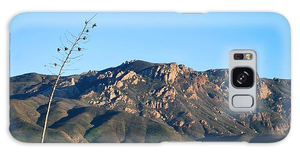Galaxy Case featuring the photograph Santa Monica Mountains View  by Matt Harang